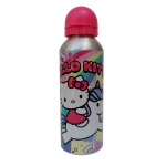 BORRACCIA IN ALLUMINIO HELLO KITTY GATTINO CON BECCUCCIO E COPERCHIO 500 ML - H01025MC/F