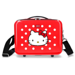 BEAUTY CASE HELLO KITTY SANRIO BORSA VIAGGIO IN ABS ADATTABILE A TROLLEY - 4223922