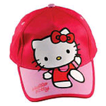 Cappello con visiera femminuccia Disney Hello Kitty 54 CM - HK3113