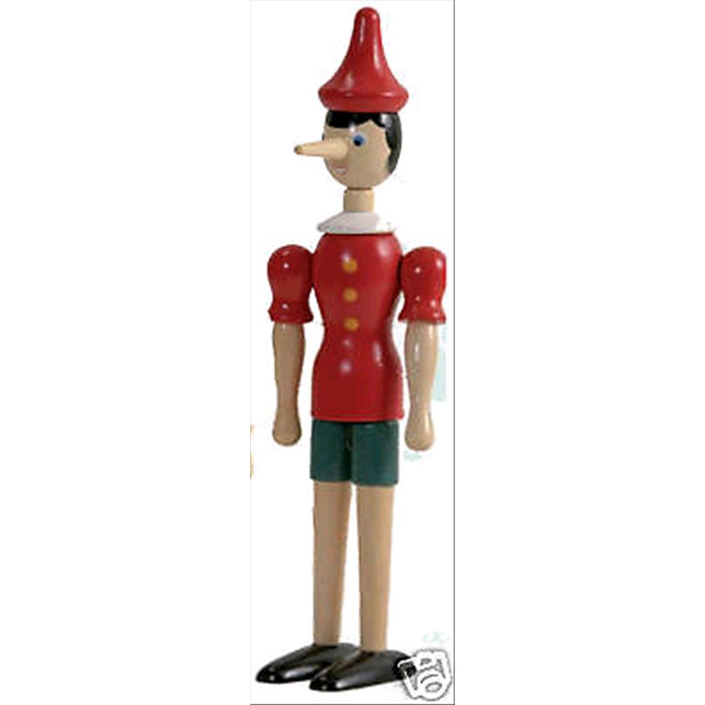 Pinocchio burattino marionetta figura in legno snodabile for Amazon oggettistica
